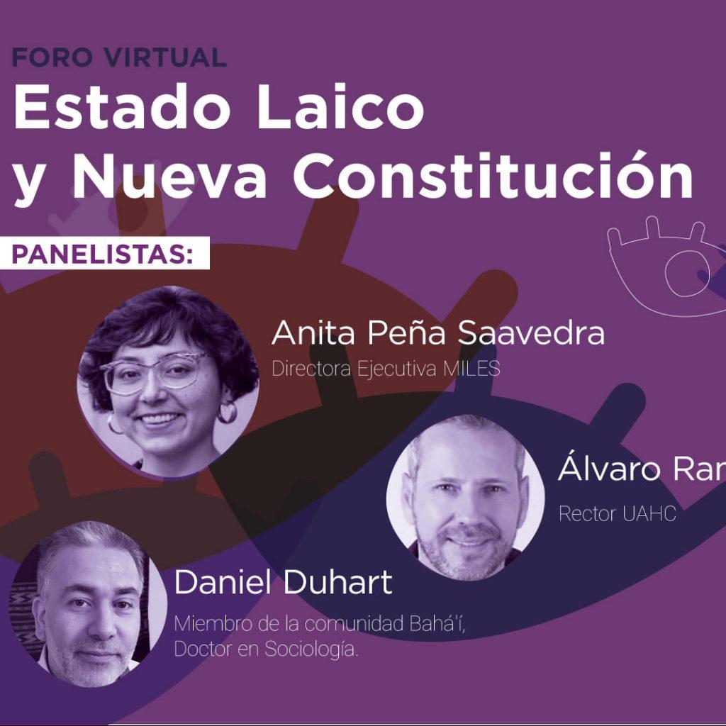 Lee más sobre el artículo Foro sobre Estado Laico y Nueva Constitución