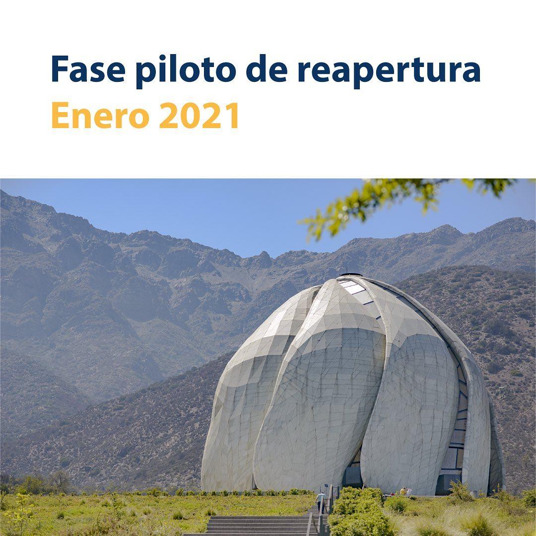 En este momento estás viendo Templo Bahá'í inicia plan piloto de reapertura