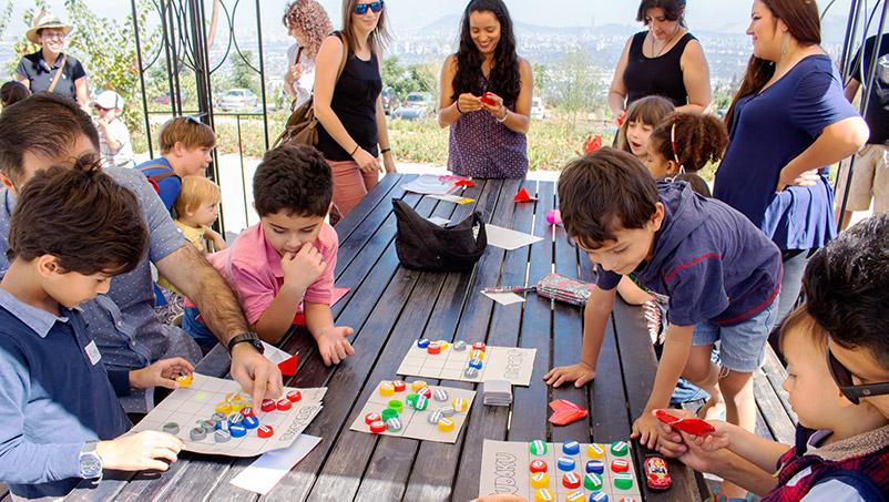 clases para niños - templo bahai